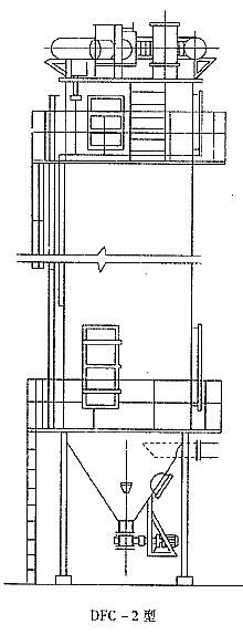 DFC-2型反吹风布袋除尘器