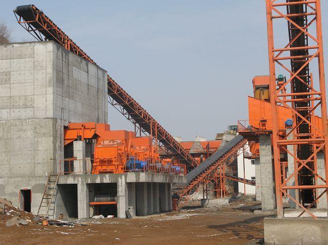 石料生产线用除尘器