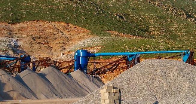 矿山石料厂除尘器