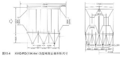 电除尘器外形尺寸