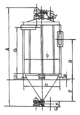 FD系列扁袋机械回转除尘器